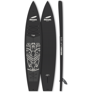 Indiana 12'6 Touring Flat Water Hallow-Carbon-29
